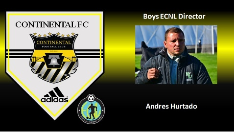 Andres Hurtado Joins CFC Staff as Boys ECNL Director