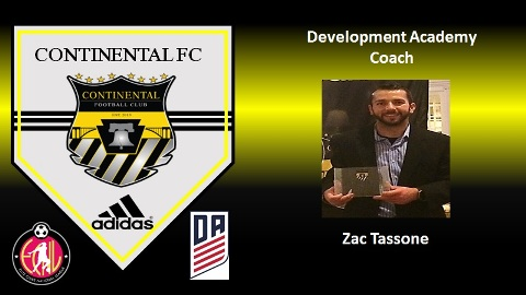 Zac Tassone Joins Development Academy Staff