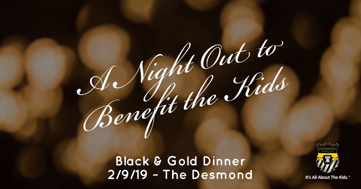 5th Annual Continental FC Black & Gold Dinner